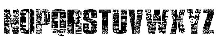 Buy More Font UPPERCASE