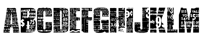 Buy More Font LOWERCASE