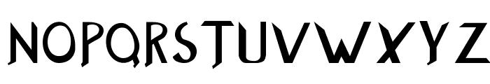 Buzzwaktype Font UPPERCASE