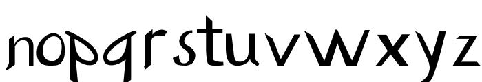 Buzzwaktype Font LOWERCASE