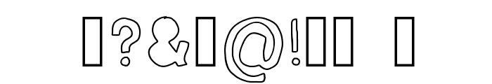 bubble mim Font OTHER CHARS