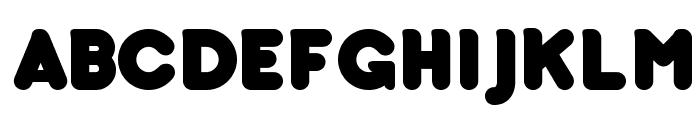 bubbleboddy Font UPPERCASE