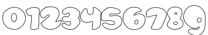 bubbletea hollow Font OTHER CHARS