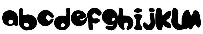 bubbletea Font UPPERCASE