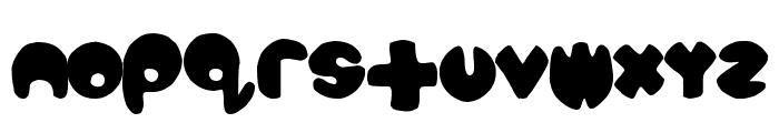 bubbletea Font LOWERCASE