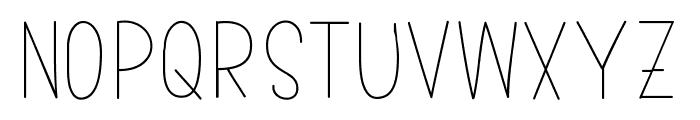 bumblebeethin Medium Font UPPERCASE