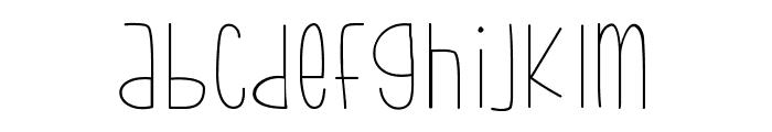 bumblebeethin Medium Font LOWERCASE