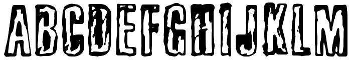 busseta Font UPPERCASE