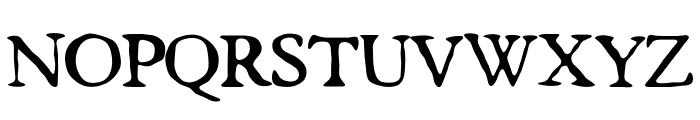 butterbrotpapier Font UPPERCASE