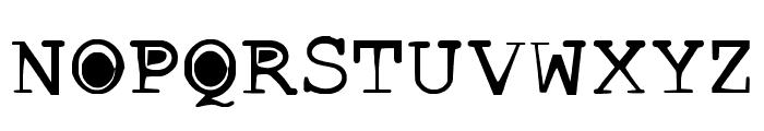 buttlint Font UPPERCASE