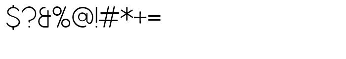 Bubbleboddy Regular Font OTHER CHARS