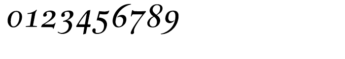 Buccardi Italic Font OTHER CHARS