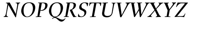 Buccardi Italic Font UPPERCASE