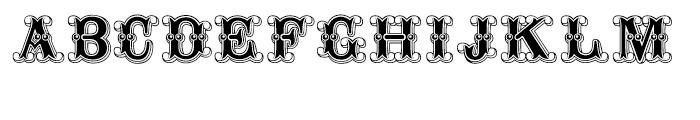 Buffalo Bill Regular Font UPPERCASE