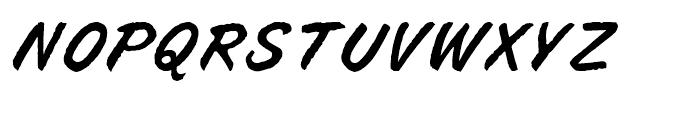 Buffalo Joe Regular Font UPPERCASE