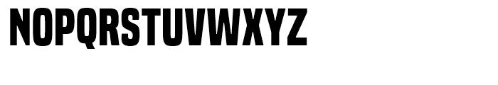 Built Bold Font UPPERCASE