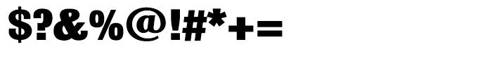 Bulldog Black Font OTHER CHARS