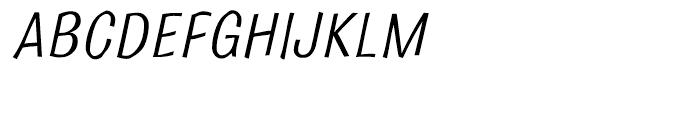 Bulldog Crazed Tilt Font UPPERCASE