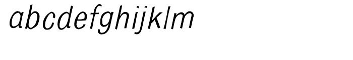 Bulldog Crazed Tilt Font LOWERCASE