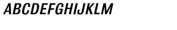 Bulldog Medium Italic Font UPPERCASE