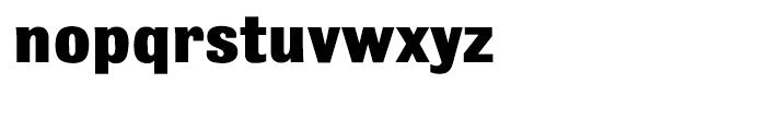 Bulldog Shadow Extra Bold Font LOWERCASE