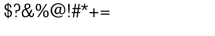 Bulldog Slab Regular Font OTHER CHARS