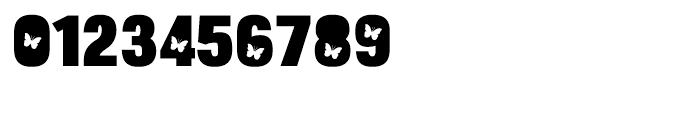 Bulltoad Butterfly Font OTHER CHARS