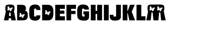 Bulltoad Butterfly Font LOWERCASE