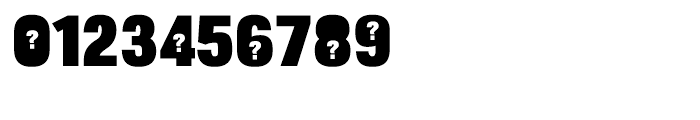 Bulltoad Question Font OTHER CHARS