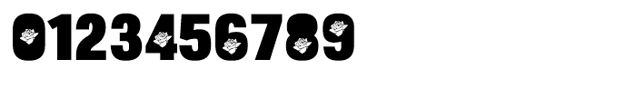 Bulltoad Rose Font OTHER CHARS
