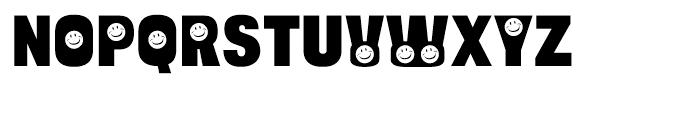 Bulltoad Smiley Font UPPERCASE