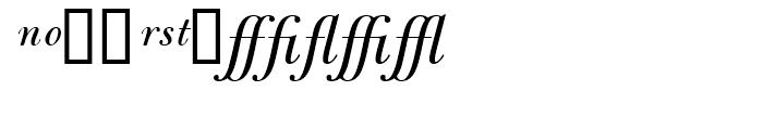 Bulmer Italic Expert Package Font UPPERCASE