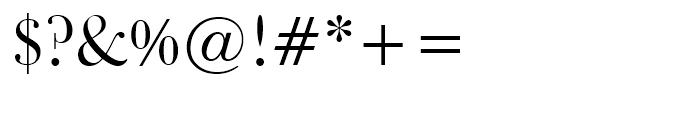 Bulmer Roman Font OTHER CHARS