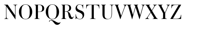 Bulmer Roman Font UPPERCASE