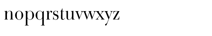 Bulmer Roman Font LOWERCASE