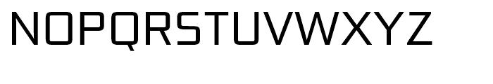 Bunken Tech Sans Book Font UPPERCASE