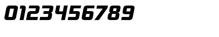 Bunken Tech Sans Extra Bold Italic Font OTHER CHARS