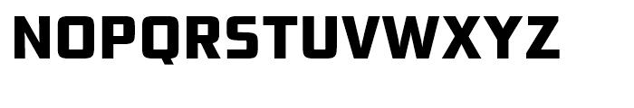 Bunken Tech Sans Extra Bold Font UPPERCASE