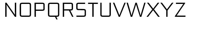 Bunken Tech Sans Light Font UPPERCASE