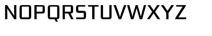 Bunken Tech Sans Medium Font UPPERCASE