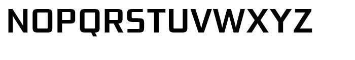 Bunken Tech Sans Semi Bold Font UPPERCASE