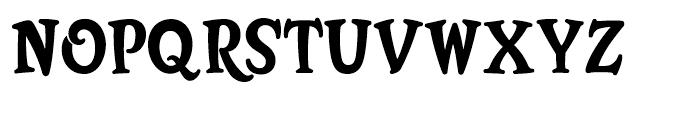 Bunky Regular Font UPPERCASE