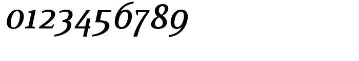 Buozzi Medium Italic Font OTHER CHARS