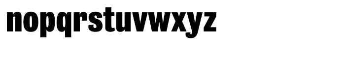 Bureau Grot Condensed Black Font LOWERCASE