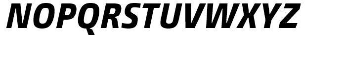 Burlingame Condensed Extra Bold Italic Font UPPERCASE