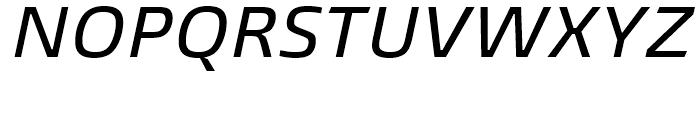 Burlingame Medium Italic Font UPPERCASE