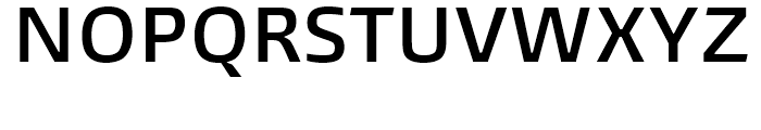 Burlingame Semi Bold Font UPPERCASE