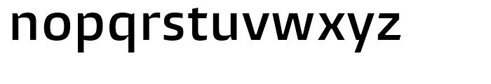 Burlingame Semi Bold Font LOWERCASE