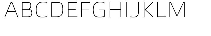 Burlingame Thin Font UPPERCASE