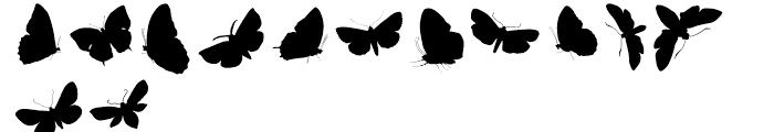 Butterfly Effect Regular Font UPPERCASE